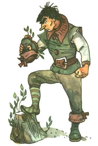 Урфин джюс и его деревянные солдаты книга картинки 17